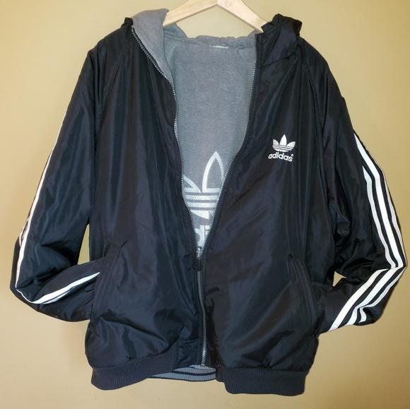 cute cheap on sale outlet boutique Adidas originals Vintage reversible jacket